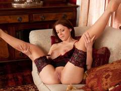 Pretty milf pussy makes its first video appearance